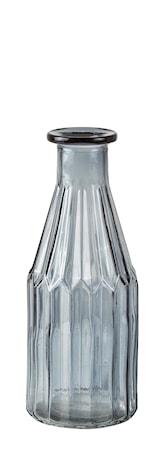 Vase - Glass - Røgfarvet - D 8,0cm - H 20,0cm