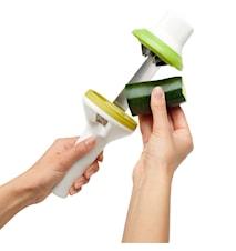 Twist spiralizer - Vihannessorvin Valkoinen/vihreä