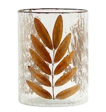 Leaves Vase/Lyslykt Glass Large