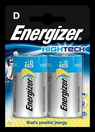 Batteri Energizer HighTech LR2 0/D, 1,5 V, 2 stk