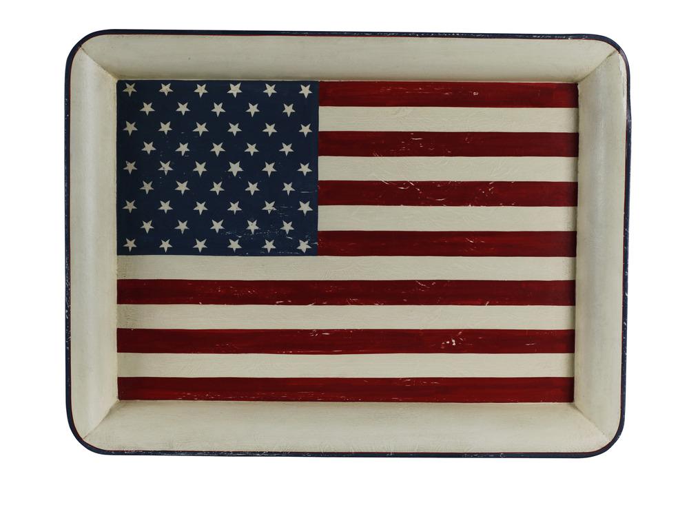 Bricka Motiv USA