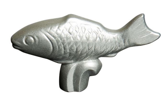 Knopp i rostfritt stål - fisk