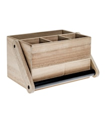 Cutlery Box with Handle Acaccia