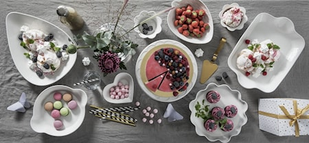 Sweden skål, jordbær