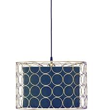 Taklampe Ring Gull/Blå