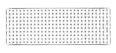 Bossa Nova Rektangulär Tallrik 42x15cm