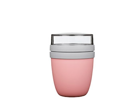 Lunchbägare Elipse pink