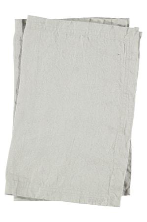 Bordstablett Tvättat Lin 2-pack - Grå