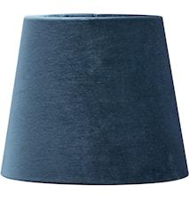 Mia Fløjl Blå 17cm