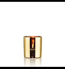 Hurricane lamp - Gold