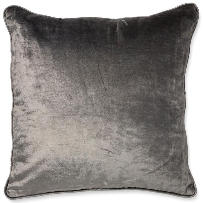 Pudebetræk 50x50 Velvet/Linen Titanium