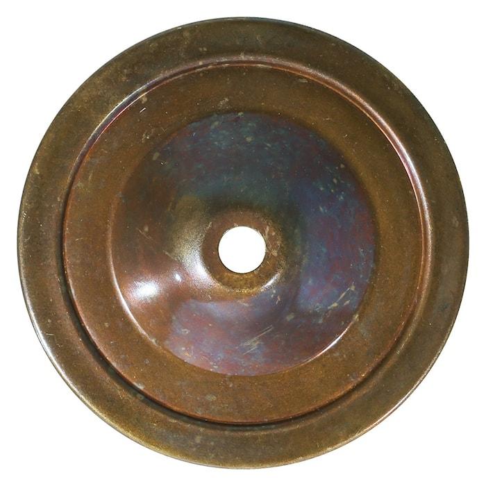Hali swan vägglampa - Antique brass