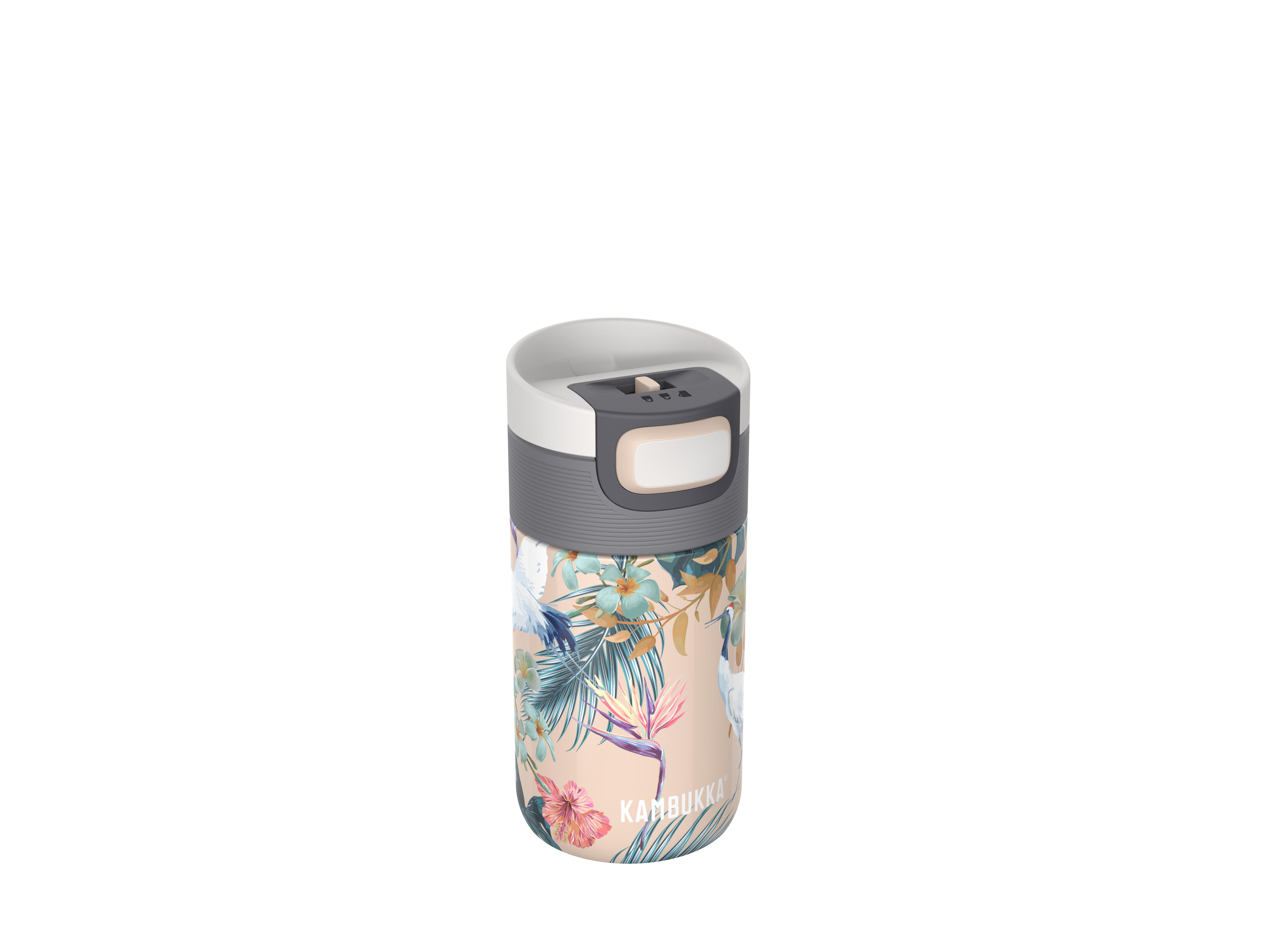 Termoflaske Etna 300ml Paradise Flower Rustfrit stål