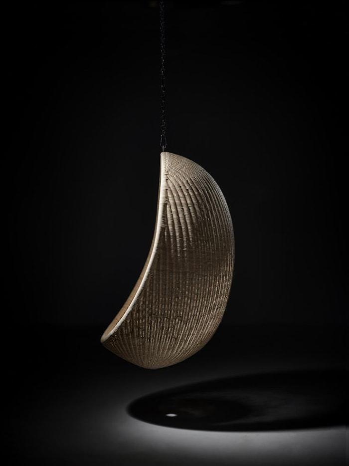 Hanging egg chair hängstol För inomhusbruk