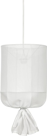 Round Outdoor Sheer Offwhite 30cm