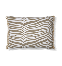 Zebra Kudde Simply Taupe 40x60 cm