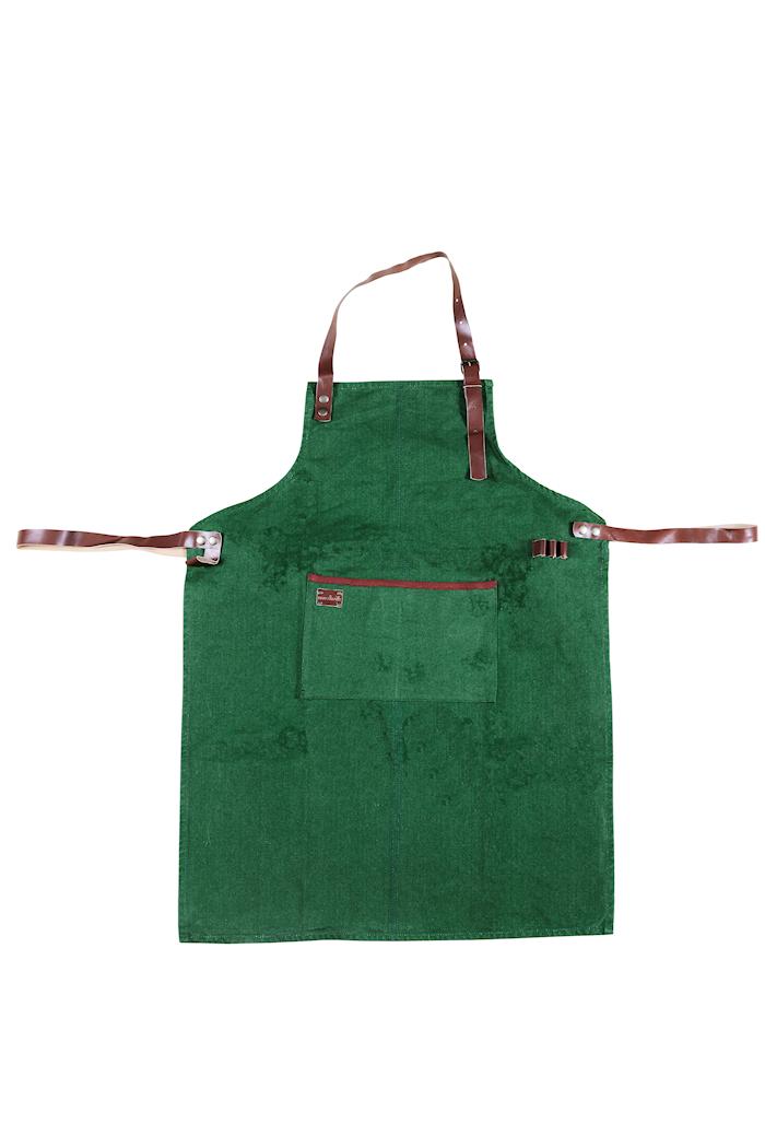 Förkläde Canvas Grön
