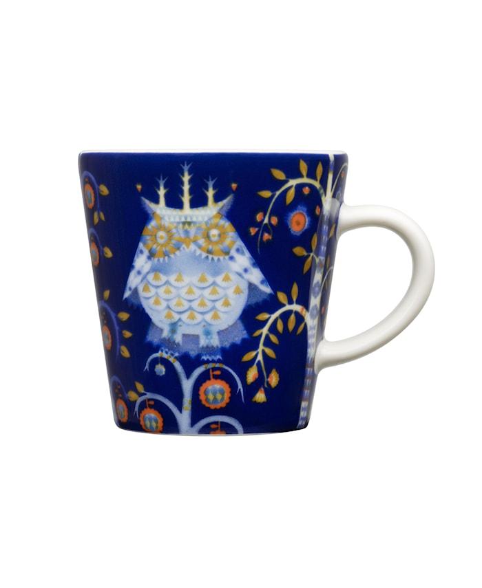 Taika Espressokopp 10 cl blå