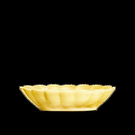 Oyster Skål Gul 23x18cm