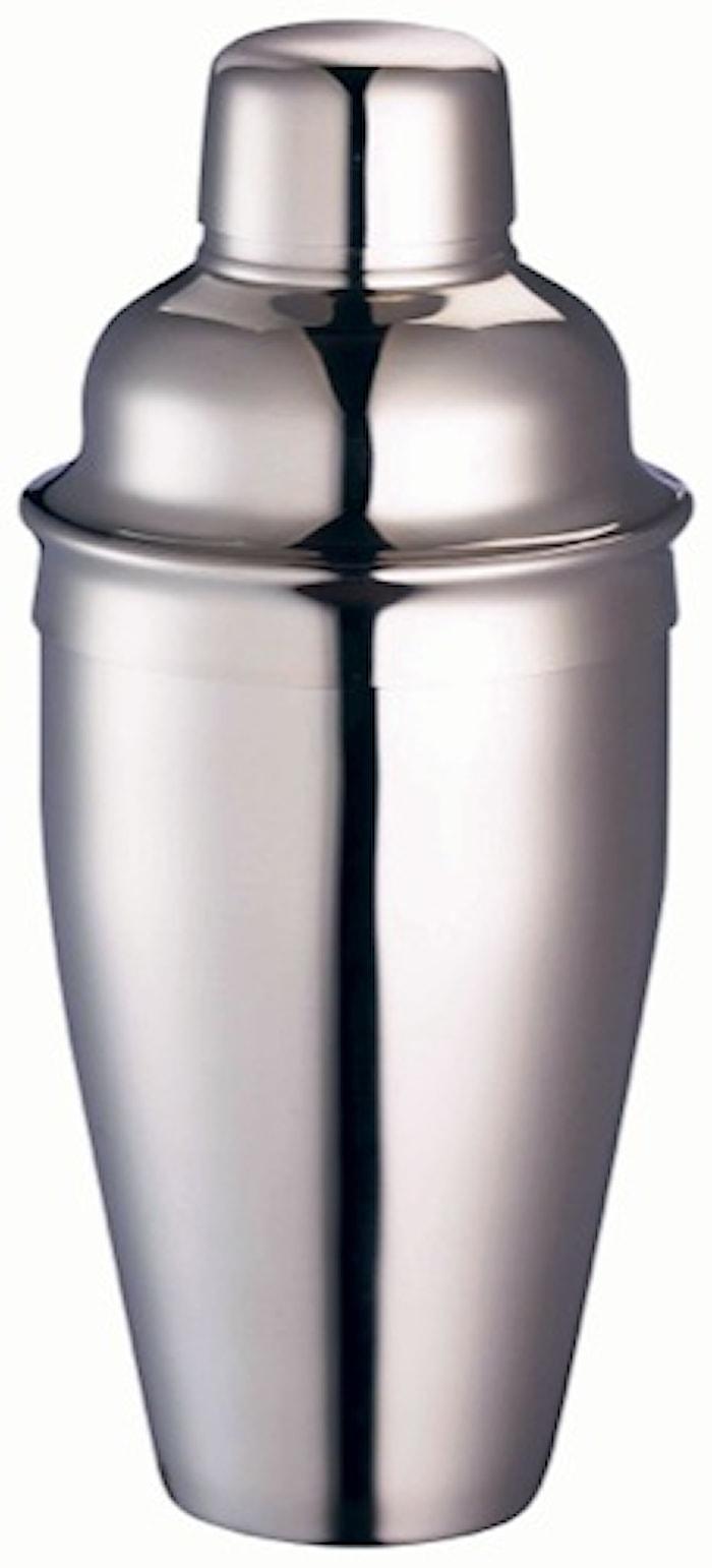 Shaker ruostumatonta terästä 5 dl
