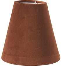 Toppringskjerm E14 Studio Rust 15 cm