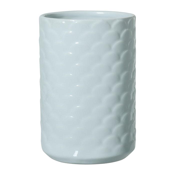 Vase Stengods Ø 11 cm - Blå
