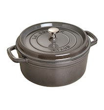 Round Pot 24 cm Grey 3,8 L