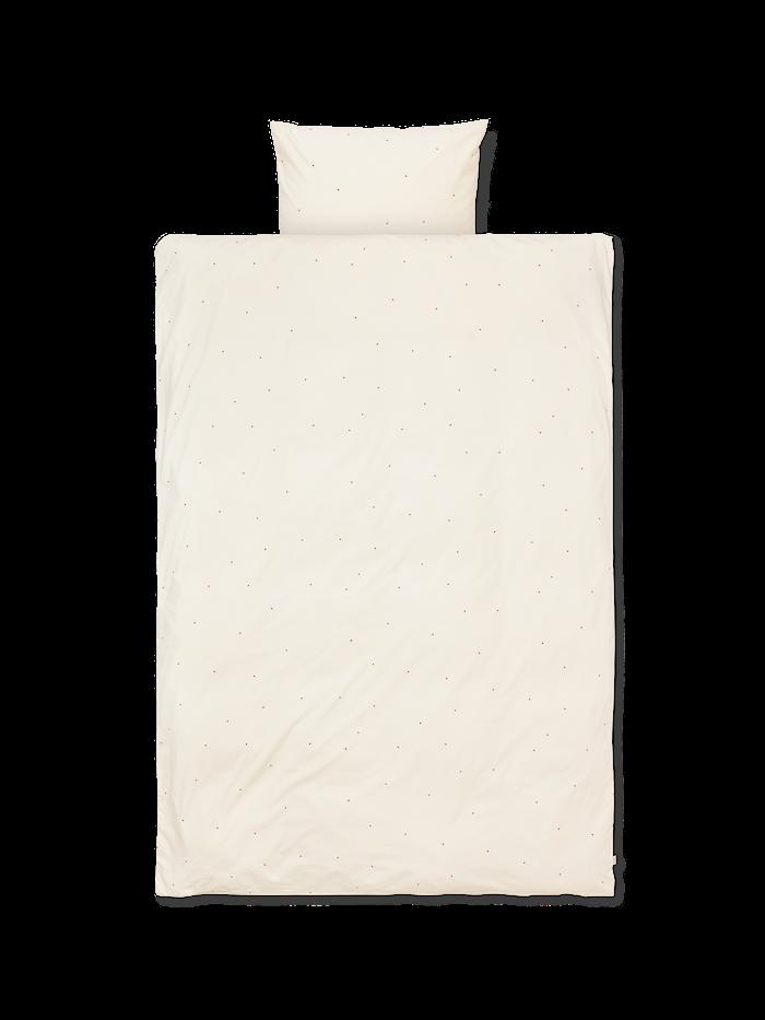Dot Påslakanset OffWhite 100x140 cm