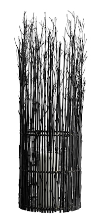 Lykta Bambu 65x20 cm Svart