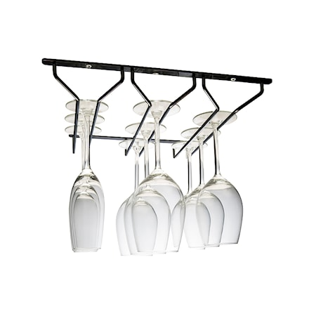 Hahn Kitchenware Glasshenger 3 Spor Svart