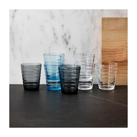 Aino Aalto glas 22 cl grå 2-pack