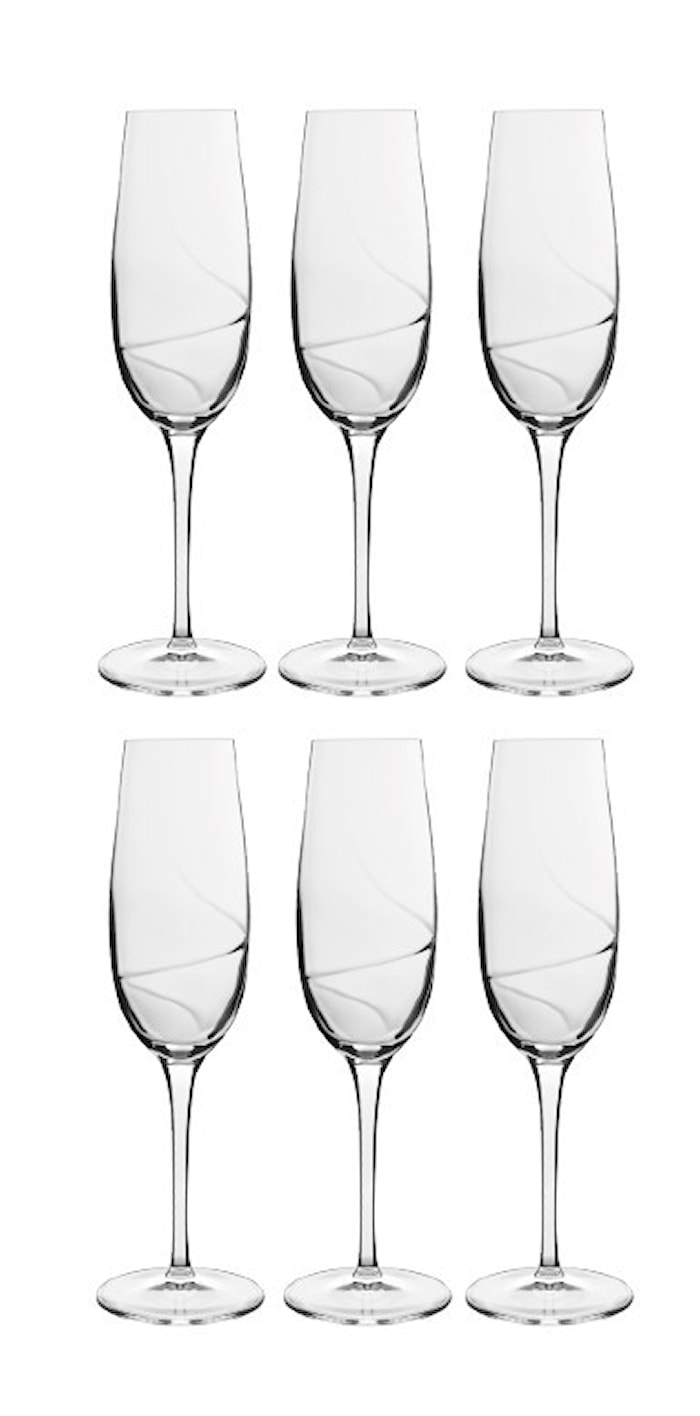 Aero Champagneglas 23,5 cl 6-pack