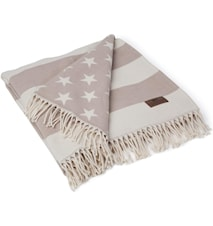 Flag Filt Vit/Beige 130x170cm
