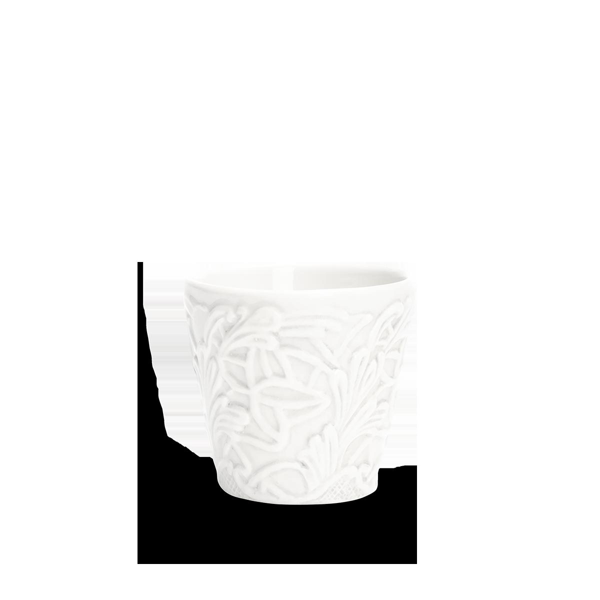 Spets Espressokopp Vit 10 cl