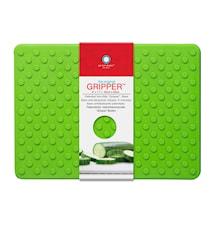 Skärbräda gripper 28x20 cm grön