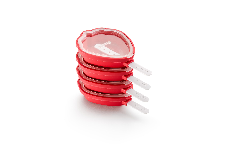 Glassform Jordgubbe 4-pack