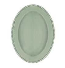 Fat Ovalt 40 cm Ängsgrön