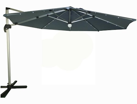 Capri Parasoll med LED belysning 3,5m