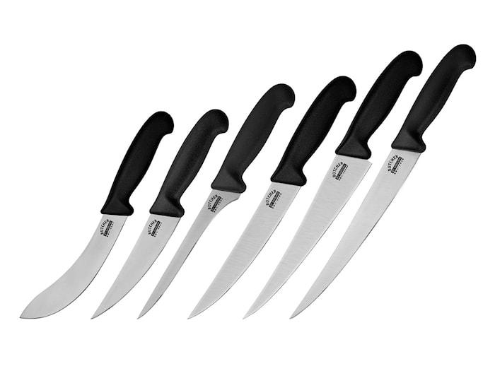 Samura Butcher Sett med 6 kniver