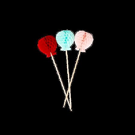 Papperdekoration 6 Pack Ballonger