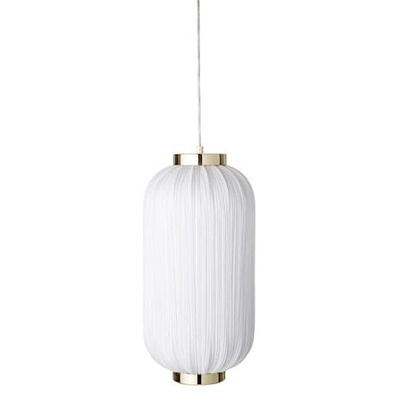 Taglampe White Textile