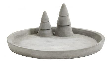 Bricka X-mas Cement Large 24 cm