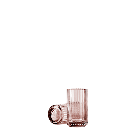 Maljakko Suupuhallettu Lasi Copenhagen Burgundy 12,5cm