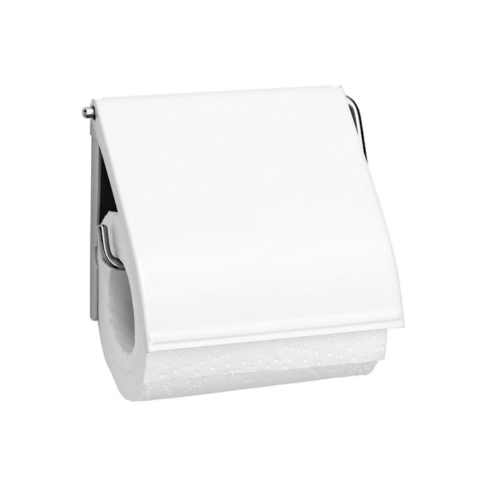 Toalettpapirsholder 132x123 mm Hvit