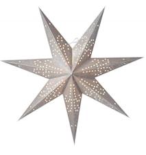 Ludwig Julstjärna Silver 60 cm