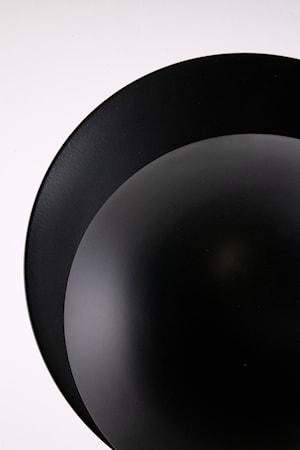 Vägglampa Orbit Svart