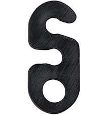 Ripustuskannatin Musta 3cm