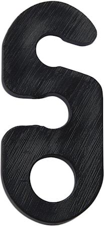 Opphengsbeslag Sort 3cm