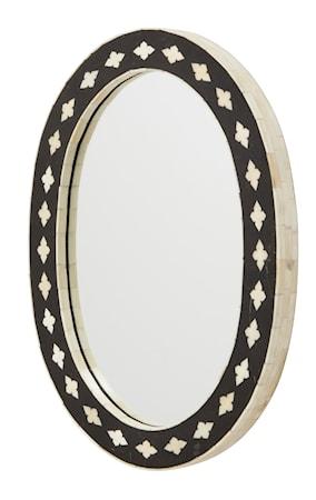 Bone Spegel Oval