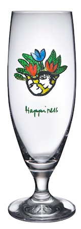 Friendship Happiness Ölglas 50 cl